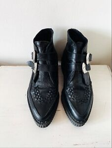 Underground Bowie creeper boots size 4, would  also fit size 5