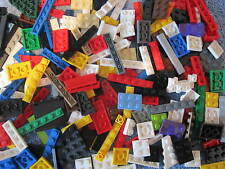 OVER 100 LEGO Coloured Parts / Flat Bricks  A Good Mix of  Shapes & Sizes