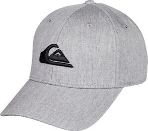 QUIKSILVER Cap Kappe Mütze DECADES Cap 2021 light grey heather Basecap
