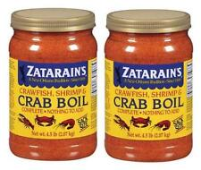 2- Pack ~ Zatarain's Crawfish, Shrimp & Crab Boil ~ 9 lbs Total ~ Free Shipping