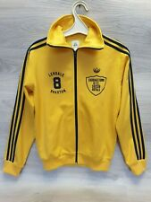 Adidas track jacket Cabbagetown Royal Lendale Braxton 8 yellow Size S Trifold