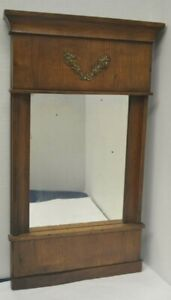 Antique Biedermeier Mirror - German Early 19th Century