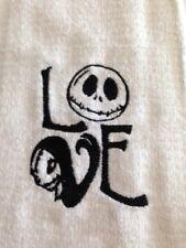 "Kitchen Towel -  Jack & Sally Love - Set of 2 -16""Wx19""L - Bar Mop Towels"