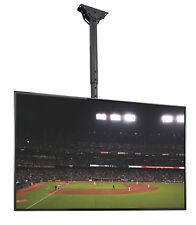"TV Ceiling Mount Height Adjustable and Tilt for LCD LED Flat Screen 32"" to 55"""
