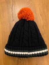 Next Navy Beanie Wool Bobble Hat One Size