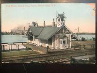 Vintage Postcard>1911>Dock House>Sailors' Snug Harbor>Staten Island>N.Y.