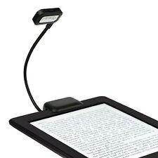 LED Clip-on Desk Lamp For Reading Kindle Laptop Desktop Notebook Ebook Booklight