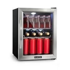 Mini Frigo Réfrigérateur compact 35L bar Eclairage LED Porte vitrée Classe A++