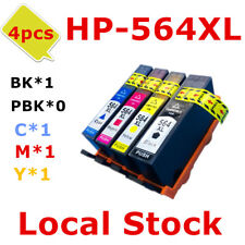 4x HP564XL 564XL ink Cartridge for HP 5520 5510 7520 5514 6510 6512 6515e