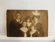 Italiano a Il Cairo ritratto di famiglia 1916