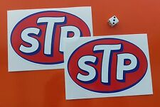 "2 LARGE STP Stickers 6"" DECALS 7-10 YEAR QUALITY VINY  ECO SOLVENT INK"