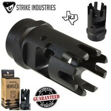 Strike Industries CHECKMATE Comp Muzzle Brake 1/2x28+Crush Washer 5.56/223/22LR