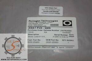 0020-25920 / SHIELD LOWER 8 G12 SST / APPLIED MATERIALS