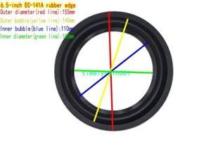"""1pcs 6/6.5"""" inch Speaker rubber Edge Speaker surround Home Audio repair DIY Part"""