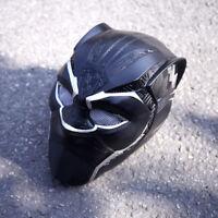 2018 Movie Black Panther T'Challa Superhero Masks Halloween Cosplay PVC Helmets
