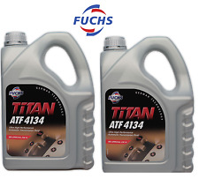 Mercedes 8 Liters Auto Trans Fluid ATF 4134 MBZ Approval 236.14 OEM Fuchs Titan