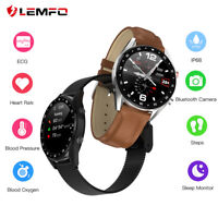 Lemfo L7 ECG Reloj inteligente Monitor de sueño IP68 Bluetooth Android iPhone