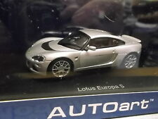 LOTUS Europa S silber silver 55356 Sonderpreis AUTOart AA  1:43