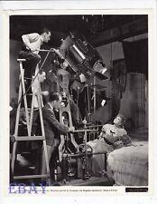 Director George Cukor Claudette Colbert VINTAGE Photo Zaza candid on set