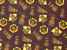 Fat Quarter Doctor Who Daleks 100% Cotton Quilting Fabric Springs Fabric 57136
