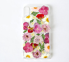 pressed flower Case Cover For Apple iPhone X XR XS Max 7 8 6 6S Plus Phone case