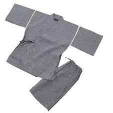 JAPANESE Kimono Jinbei Men's trousers set 3L NEW GRAY