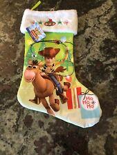New Authentic Disney Toy Story 4 Woody Stocking Santa Holidays Christmas Gift