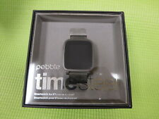 Pebble Time Steel Smartwatch Apple Android - Dark Green Band 511-00029, 40 & 24