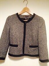 Zara Waist Length Tweed Coats & Jackets for Women