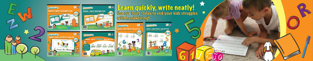 Visual Handwriting & Math Workbooks