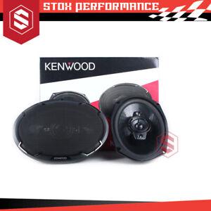 """Kenwood KFC-PS6986 6"""" x 9"""" 4-Way 600Watts Peak Coaxial Car Audio Speakers"""