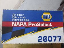 NAPA 26077 ProSelect AIR FILTER NEW IN BOX AS PICTURED.