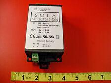 Sola SCP 30T515-DN Power Supply In 100-240v Out 5v 3.0a SCP30T515DN used
