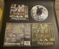 Soul Reaver Legacy of Kain Ps1 1a Edizione Italiana Cover Olografica con manuale