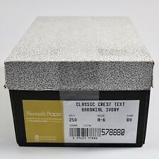 New listing 578880 Neenah Classic Crest Stationery Envelopes, Baronial Ivory, 250/Box