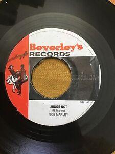 Bob Marley Judge Not Beverleys Jamaica Reggae 45