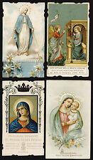 lotto santini-holy cards lot-lot images pieuses-konvolut heiligenbildichen n.365