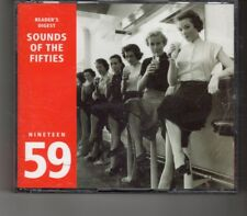(HP663) Sounds Of The Fifties, 1959 - 2001 Reader's Digest CD set