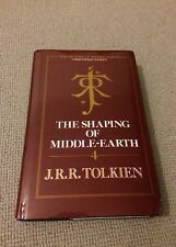 Tolkien SHAPING OF MIDDLE-EARTH vol 4 hardback 1991 History Middle Earth