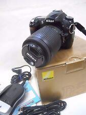 NIKON D50 Digital SLR Camera with AF-S DX Nikkor 55-200mm 1:4-5.6G Extras NR!