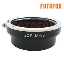 EOS-M4/3 Adapter Ring Canon EOS Lens to Micro Four Thirds PL1 GF1 GH4 Panasonic