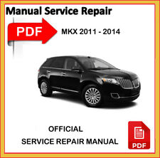 LIncoln MKX 2011 2012 2013 2014 Factory Service Repair Workshop Manual official
