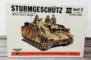 Bandai Sturmgeschutz III Ausf.G German Panzertruppe Series No. 22 1/48 Scale NOB