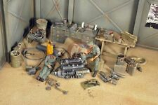 Verlinden 1/35 Panzerwerk Repair Shop WWII (Workshop Diorama w/2 Figures) 2778