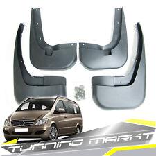 Schmutzfänger Spritzlappen Vorne + Hinten für Mercedes Benz Vito Viano W639 mf4