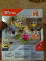 NEW Despicable Me MEGA CONSTRUX Lego Water Hose Hijinx Bob Minions age 5+ 19 pc