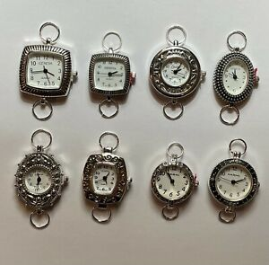 Silver Tone Watch Faces - Watch Faces for Jewelry Making