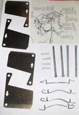 FORD Escort Mk1 Mk2 Mexico RS1600 Granada BRAKE PAD FITTING KIT (Pins Shims) 72-