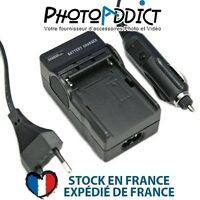 Chargeur pour batterie MINOLTA NP-700 - 110 / 220V et 12V