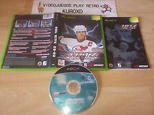 MICROSOFT XBOX NHL HITZ 2002 COMPLETO PAL ESPAÑA
